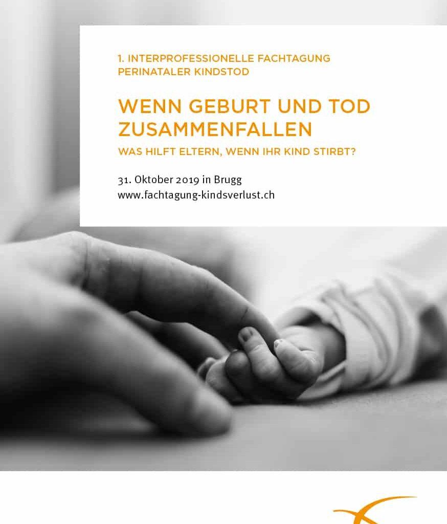 Kindsverlust Ch Fachtagung 2019 Flyer A5 TITELSEITE