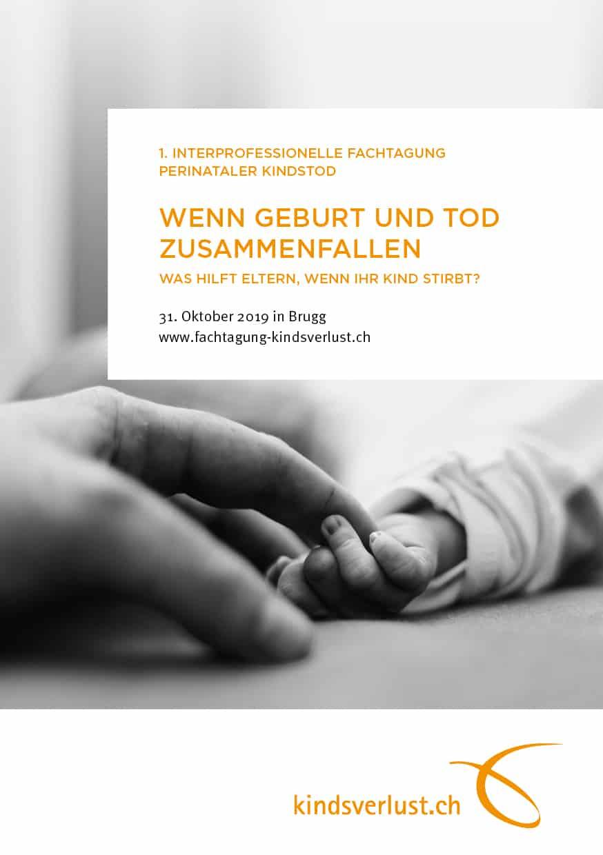 Medienmitteilung Fachtagung Kindsverlust Vom 31.10.2019
